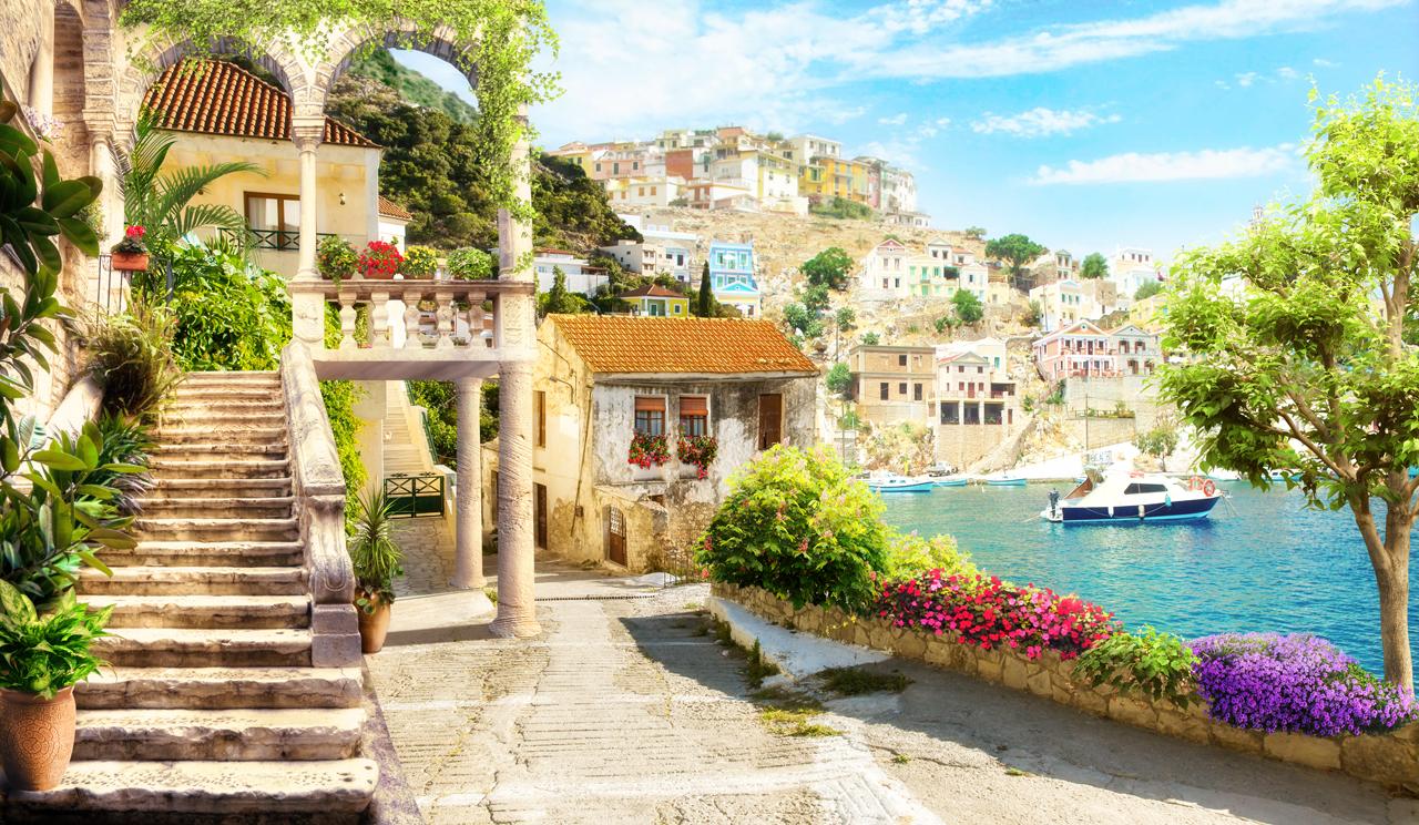 картинки весенняя природа средиземноморье купить женские тапочки